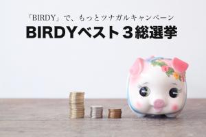 BIRDYが選ぶBEST3総選挙